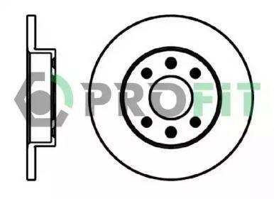 Передний тормозной диск на Рено 9 PROFIT 5010-0055.