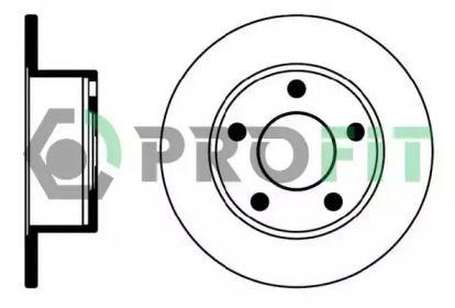 Задний тормозной диск 'PROFIT 5010-0321'.