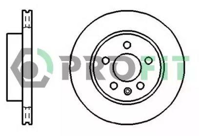 Вентилируемый передний тормозной диск на Мерседес В Класс 'PROFIT 5010-0860'.