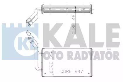 Радиатор печки 'KALE OTO RADYATOR 149800'.