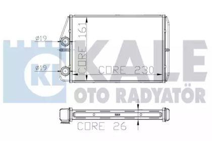 Радіатор печі 'KALE OTO RADYATOR 305000'.