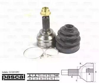 ШРУС на MAZDA XEDOS 6 'PASCAL G13010PC'.