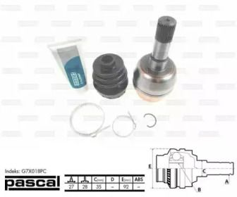 PASCAL G7X018PC