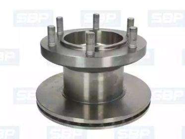 Передний тормозной диск 'SBP 02-IV013'.