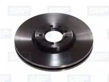 Передний тормозной диск 'SBP 02-IV014'.