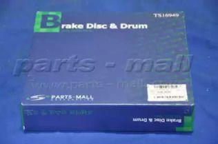 Передний тормозной диск 'PARTS-MALL PRA-016'.