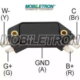 Коммутатор зажигания на Альфа Ромео Альфетта 'MOBILETRON IG-D1906'.