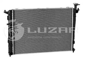 Алюмінієвий радіатор охолодження двигуна LUZAR LRc 08P5.
