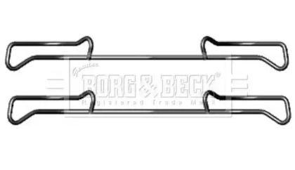 Скобы тормозных колодок на Сеат Альтеа 'BORG & BECK BBK1219'.