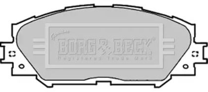 Тормозные колодки 'BORG & BECK BBP1991'.