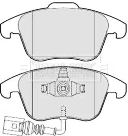 Тормозные колодки 'BORG & BECK BBP2049'.