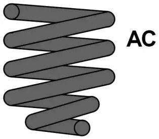 Пружина підвіски 'MAXTRAC MC0276'.