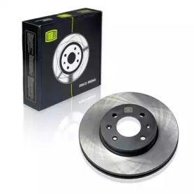 Вентилируемый передний тормозной диск на HYUNDAI I20 TRIALLI DF 073203.