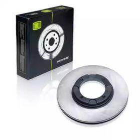 Вентилируемый передний тормозной диск на HYUNDAI PONY 'TRIALLI DF 084101'.