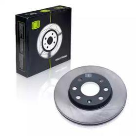 Вентилируемый передний тормозной диск 'TRIALLI DF 051101'.