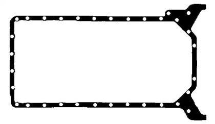 Прокладка, масляний піддон на Мерседес Г Клас  BGA OP2337.