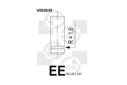 Впускной клапан 'BGA V003639'.