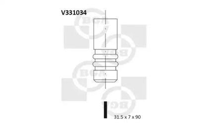 Выпускной клапан на Сеат Толедо 'BGA V331034'.