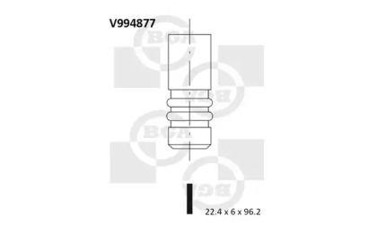 Выпускной клапан на Лянча Муса BGA V994877.