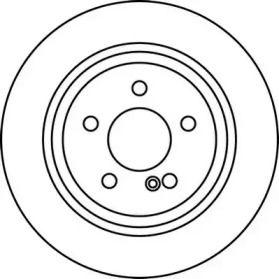 Задній гальмівний диск на Мерседес W212 JURID 562213JC.