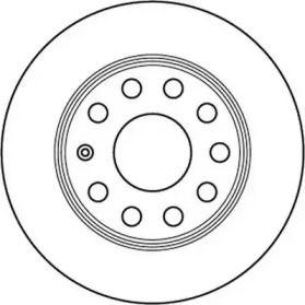 Задний тормозной диск 'JURID 562236JC'.