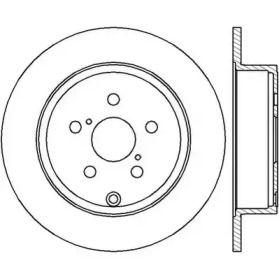 Задний тормозной диск 'JURID 562418JC'.