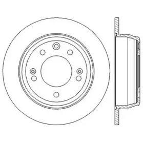 Задний тормозной диск 'JURID 562553JC'.