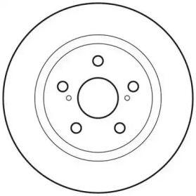 Задний тормозной диск на Опель Инсигния 'JURID 562659JC'.
