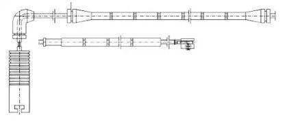 Датчик зносу гальмівних колодок JURID 581357.