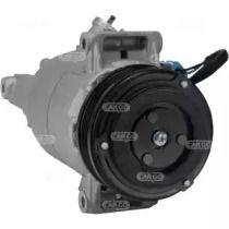 Компрессор кондиционера на SKODA OCTAVIA A5 'HC-CARGO 240841'.