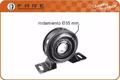 Підвісний підшипник карданного валу FARE SA 10755.