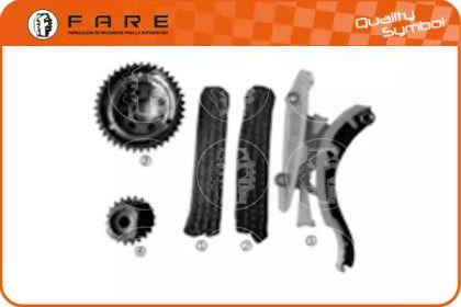 Комплект ланцюга ГРМ FARE SA 12904.