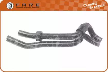 Патрубок радиатора печки FARE SA 9120.