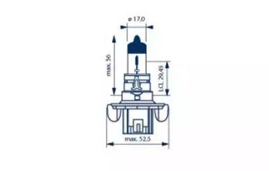 Лампа фары 'NARVA 48092'.