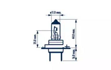 Лампа фары на SEAT ALTEA 'NARVA 48328'.