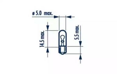 Лампа, лампа чтения 'NARVA 17037'.