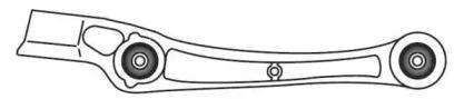 Нижний правый рычаг Передней подвески 'FRAP 4595'.