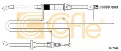 Трос ручника COFLE 10.7484.