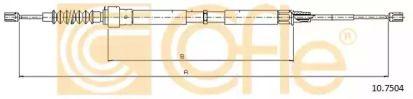 Трос ручника на Сеат Леон 'COFLE 10.7504'.