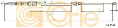 Трос ручника на AUDI TT 'COFLE 10.7564'.