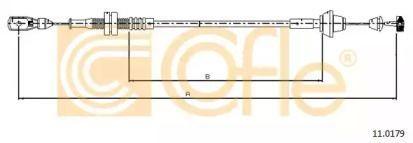 Тросик газу 'COFLE 11.0179'.