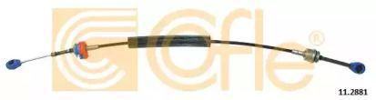 Трос КПП 'COFLE 11.2881'.