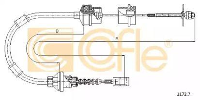 Трос зчеплення 'COFLE 1172.7'.