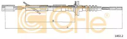 Трос зчеплення 'COFLE 1402.2'.