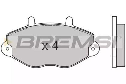 BREMSI BP2549