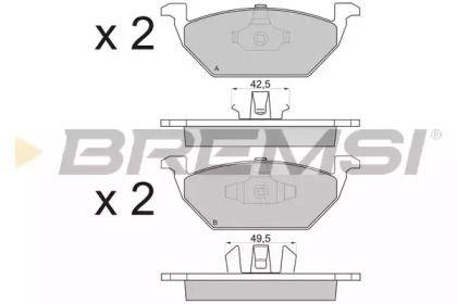 BREMSI BP2835