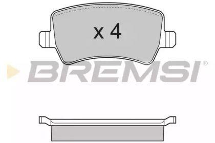 BREMSI BP3298