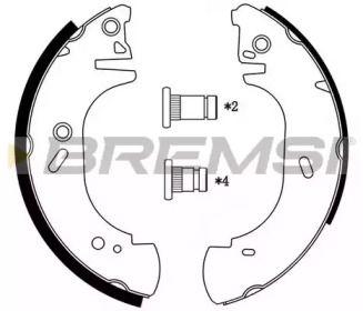 Барабанные тормозные колодки BREMSI GF0231.