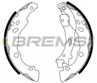 Барабанные тормозные колодки 'BREMSI GF0291'.