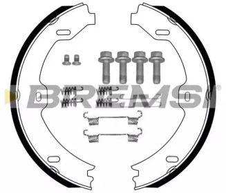 Гальмівні колодки ручника на Мерседес W211 BREMSI GF0312-1.